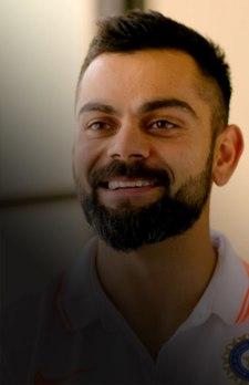 Kohli with Gilly